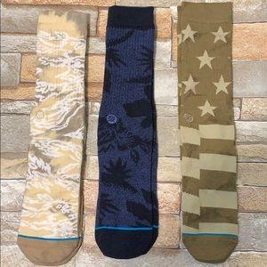 NEW Stance men's 3 pack of socks